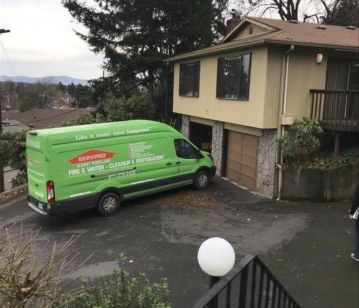 Storm Damage When Storms or Floods hit East Portland, SERVPRO is ready!